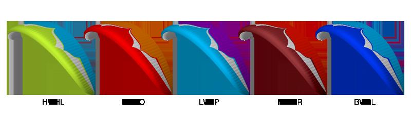 SWIFT 4 Colour Options