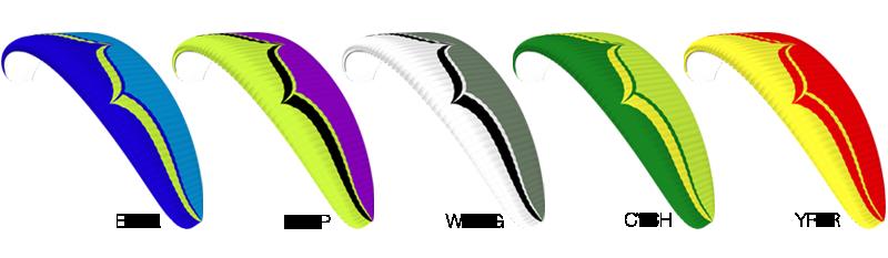 델타 3 Colour Options