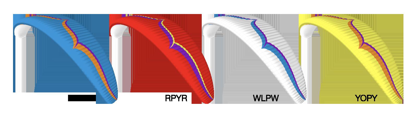 Alpina 4 Colour Options
