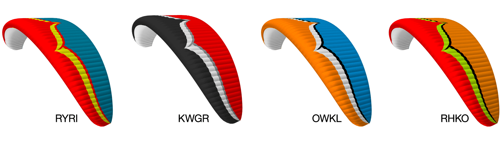 Freeride Colour Options